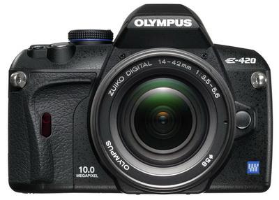 Обзор OLYMPUS E-420 kit