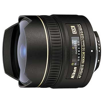 Nikon Fisheye 10.5mm f/2.8