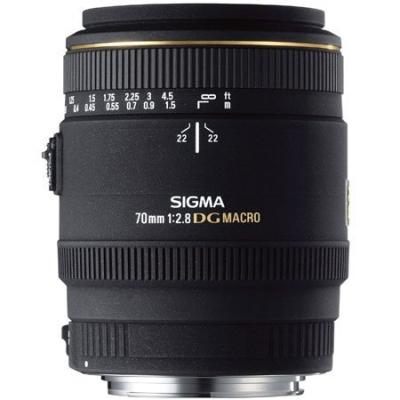 Обзор объектива Sigma 70mm f/2.8 DG macro