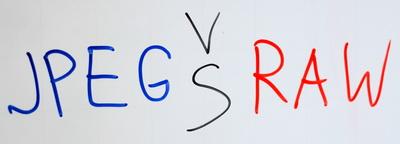JPEG vs RAW. В каком формате фотографировать.