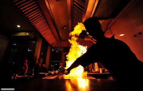Как фотографировать огонь.