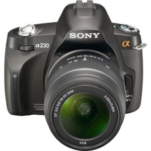 Обзор Sony A230 kit (10MP, 490 гр, 18-55mm f/3.5-5.6 ~530$)