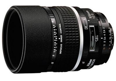 Портретный объектив Nikon 105mm f/2 DC