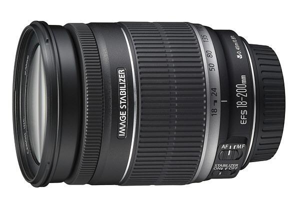 Обзор Canon 18-200 IS