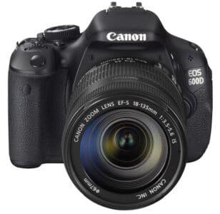 Обзор фотокамеры Canon 600D
