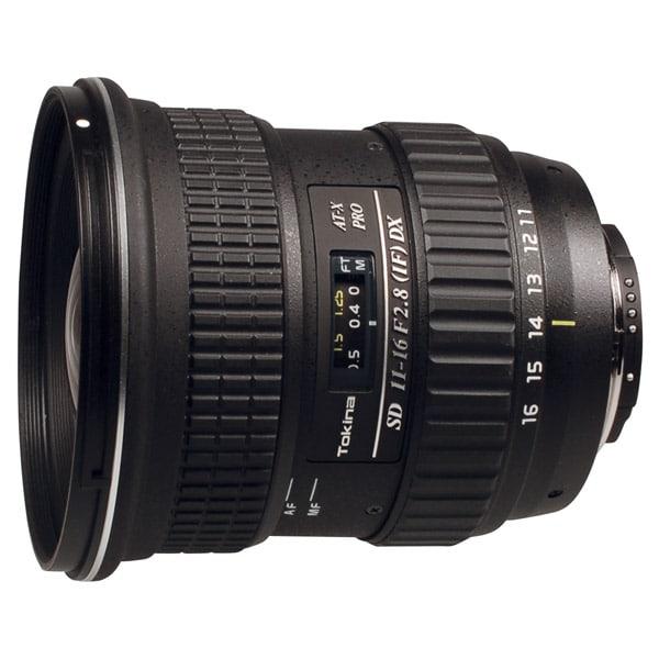 Обзор объектива Tokina 11-16mm f/2.8 AF