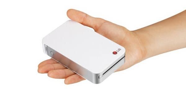 Карманный принтер от LG (PD221)