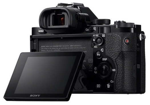 Sony a7R Digital Camera LCD Screen