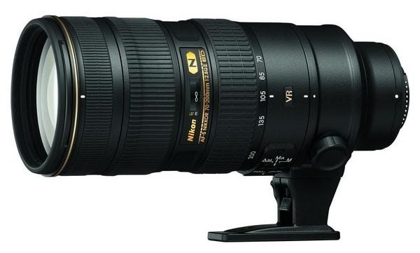 Обзор Nikon AF-S NIKKOR 70-200mm f/2.8G ED VR II