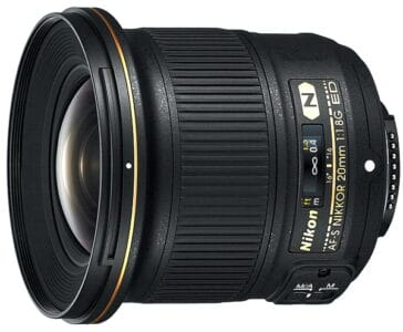 Nikon 20mm f/1.8G AF-S ED FX