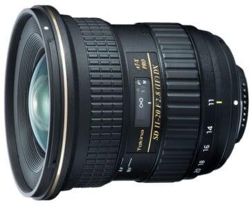 Обзор Tokina AT-X 11-20mm F2.8 PRO DX