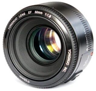 Обзор объектива Yongnuo YN50 f/1.8 для Canon