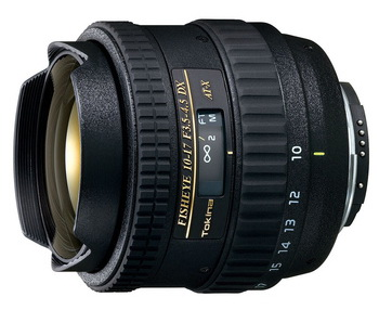 Tokina AT-X 107 F3.5-4.5 DX Fisheye