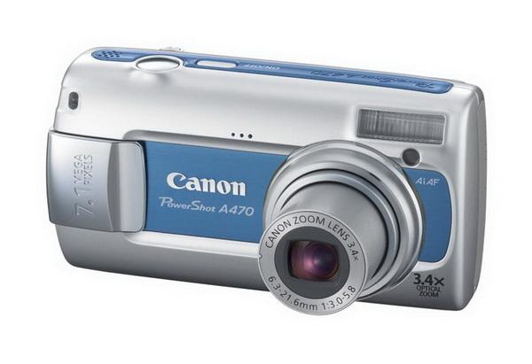 Обзор Canon PowerShot A470