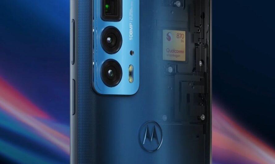 Motorola представила новый флагман Edge 20 pro